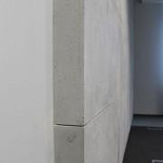 płyty z betonu na ścianie