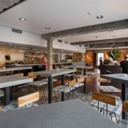 blaty betonowe w restauracji