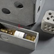 betonowe opakowanie na wino
