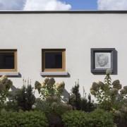 betonowa rama obrazu na zewnątrz